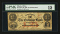 Obsoletes By State:Illinois, Albion, IL- The Exchange Bank $1.25 Nov. 5, 1862 G2a. ...