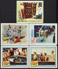 "The Monster that Challenged the World Lot (United Artists, 1957). Lobby Cards (5) (11"" X 14""). Science Fiction..."