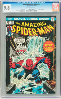 The Amazing Spider-Man #151 (Marvel, 1975) CGC NM/MT 9.8 Off-white to white pages