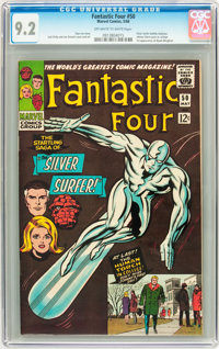 Fantastic Four #50 (Marvel, 1966) CGC NM- 9.2 Off-white to white pages