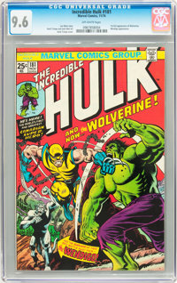 The Incredible Hulk #181 (Marvel, 1974) CGC NM+ 9.6 Off-white pages