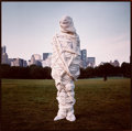 Photographs:20th Century, ANNIE LEIBOVITZ (American, b. 1949). Christo, New York City,Central Park, 1981. Cibachrome, 1981. Image: 14-1/4 x 14-1/...