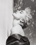 Photographs:Contemporary, HERB RITTS (American, 1952-2002). Madonna (True Blue),Hollywood, 1986. Gelatin silver, 1986. Paper: 23-7/8 x 20inches ...