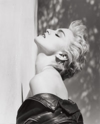 HERB RITTS (American, 1952-2002) Madonna (True Blue), Hollywood, 1986 Gelatin silver, 1986 Paper: