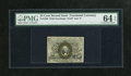 Fractional Currency:Second Issue, Fr. 1288 25c Second Issue PMG Choice Uncirculated 64EPQ. This is a splendid example of this always scarcer sleeper variety w...