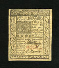 Colonial Notes:Delaware, Delaware January 1, 1776 20s Choice New. Some handling is seen onthis enormously margined and crackling fresh Delaware note...