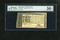 Colonial Notes:Maryland, Maryland April 10, 1774 $6 PMG About Uncirculated 50EPQ. This is a lovely About New example that has bold signatures, excell...