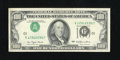 Error Notes:Inverted Third Printings, Fr. 2168-J $100 1977 Federal Reserve Note. Very Choice CrispUncirculated.. This is a Type I inverted overprint example that...
