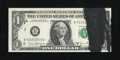 Error Notes:Ink Smears, Fr. 1907-B $1 1969D Federal Reserve Note. Choice CrispUncirculated.. ...
