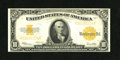 Large Size:Gold Certificates, Fr. 1173 $10 1922 Gold Certificate Extremely Fine. This is a lightly handled, eye appealing $10 Gold....