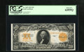 Large Size:Gold Certificates, Fr. 1187 $20 1922 Gold Certificate PCGS Choice New 63PPQ. Embossing and vibrant orange ink are two highlights of this $20 Go...