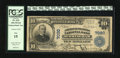 National Bank Notes:Alabama, Birmingham, AL - $10 1902 Plain Back Fr. 624 American-Traders NB Ch. # 7020. This example has solid margins. Graded F...