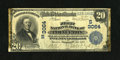 National Bank Notes:Kentucky, Princeton, KY - $20 1902 Plain Back Fr. 650 The First NB Ch.#(S)3064. Nice pen signatures are a highlight of this $20. ...