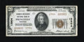 National Bank Notes:Wisconsin, Princeton, WI - $20 1929 Ty. 2 Farmers-Merchants NB Ch. # 13904. Strong embossing is carried by this $20. Corner folds a...