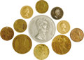 Political:Tokens & Medals, Token and Medal Group. Eleven (11) campaign tokens and related medals including two Spiel Marks from the Civil War; three ti... (Total: 11 )