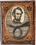 Political:Small Miscellaneous (pre-1896), Abraham Lincoln: A Sought-After Actual Lock of his Hair. One of the most thoroughly documented examples of Lincoln's hair wh...