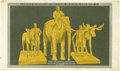 Political:Small Paper (1896-present), The Election of 1912 -- as Rendered in Butter! Butter? Yes... butter. A bizarre and quite rare 1912 color postcard from the ...