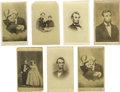 Photography:CDVs, Abraham Lincoln CDV Collection A fabulous dealer lot of 39 cartes de visite of Abraham Lincoln and related subjects incl... (Total: 39 )