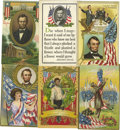 Political:Small Paper (1896-present), Better Early and 1909 Lincoln Centennial Postcard Hoard A large dealer's lot of approximately 330 postcards, most dating to ... (Total: 330 )