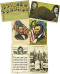 Political:Small Paper (1896-present), Abraham Lincoln in Postcards Another superb dealer's lot consistingof approximately 750 mostly color postcards together wit... (Total:750 )