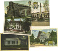 Political:Small Paper (1896-present), Abraham Lincoln in Postcards An excellent dealer's lot consisting of approximately 650 mostly color postcards (some sepia an... (Total: 650 )