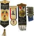 Military & Patriotic:Civil War, Fine G.A.R. Medal Group A fine set of four (4) medals and ribbons worn by Civil War veterans at various encampments and meet... (Total: 4 )
