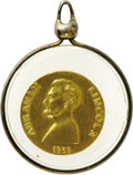 Political:Tokens & Medals, Abraham Lincoln: A Scarce Solid Gold Lincoln Medal. Dated 1939, this is one of several issued by coin dealer Thomas Elder in...