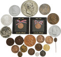 Political:Tokens & Medals, Large Collection of Better Lincoln Medals. An assortment of twenty-three (23) nicer medals and medallions. Ranging in size f... (Total: 23 )
