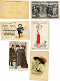 Miscellaneous:Ephemera, Six American Suffrage Postcards, Three of Which Carry Advertising.The advertising cards in this lot tout the Stearns-Knight...(Total: 6 )