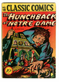 Golden Age (1938-1955):Horror, Classic Comics #18 Hunchback of Notre Dame Original Edition 1B(Island Publishing, 1944) Condition: VG....