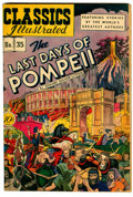 Golden Age (1938-1955):Classics Illustrated, Classics Illustrated #35 The Last Days of Pompeii - OriginalEdition (Gilberton, 1947) Condition: FN+....