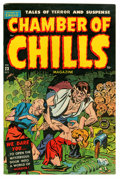 Golden Age (1938-1955):Horror, Chamber of Chills #23 (#3) (Harvey, 1951) Condition: FN/VF....
