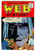 Golden Age (1938-1955):Horror, Web of Mystery #28 (Ace, 1955) Condition: VF-....