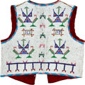 Other, A SIOUX BEADED HIDE VEST. c. 1890...
