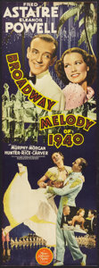 """Movie Posters:Musical, Broadway Melody of 1940 (MGM, 1940). Insert (12.5"""" X 34.5"""").Musical.. ..."""