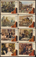 """Movie Posters:Western, Wells Fargo (Paramount, 1937). Lobby Card Set of 8 (11"""" X 14""""). Western.. ... (Total: 8 Items)"""