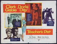 """Teacher's Pet Lot (Paramount, 1958). Half Sheet (22"""" X 28"""") Style A, One Sheets (5) (27"""" X 41""""), and..."""