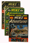 Golden Age (1938-1955):War, Men's Adventures #13, 22, and 26 Group (Atlas, 1952-54).... (Total:3 Comic Books)