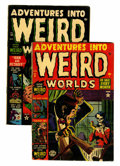Golden Age (1938-1955):Horror, Adventures Into Weird Worlds #9 and 18 Group (Atlas, 1952-53)....(Total: 2 Comic Books)