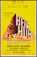 "Movie Posters:Historical Drama, Ben-Hur (MGM, 1959). Window Card (14"" X 22"") and Hardcover Program(Multiple Pages, 8.25"" X 11.25""). Historical Drama.. ... (Total: 2Items)"
