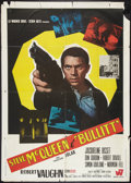 "Movie Posters:Crime, Bullitt (Warner Brothers, 1968). Italian 2 - Foglio (39"" X 54"").Crime.. ..."