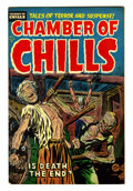 Golden Age (1938-1955):Horror, Chamber of Chills #22 (Harvey, 1954) Condition: VF....