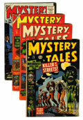 Golden Age (1938-1955):Horror, Mystery Tales Group (Atlas, 1953-55).... (Total: 4 Comic Books)