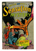Golden Age (1938-1955):Horror, Sensation Mystery #114 (DC, 1953) Condition: VG....