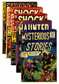 Golden Age (1938-1955):Horror, Comic Books - Assorted Golden Age Horror Comics Group (Various,1955).... (Total: 5 Comic Books)