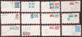 Baseball Collectibles:Others, Baseball Stars Signed First Day Covers Lot of 80+....