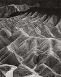 Photographs, ANSEL EASTON ADAMS (American, 1902-1984). Zabriskie Point, Death Valley National Monument, California, from Portfolio II...