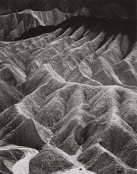 ANSEL EASTON ADAMS (American, 1902-1984) Zabriskie Point, Death Valley National Monument, California, from Port