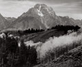 Photographs:20th Century, ANSEL EASTON ADAMS (American, 1902-1984). Mount Moran, AutumnGrand Teton National Park, 1942. Gelatin silver, circa 195...
