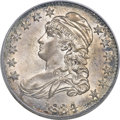 Bust Half Dollars, 1834 50C Large Date, Large Letters MS64 PCGS. O-101, R.1....